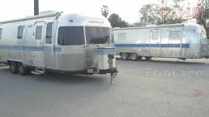 100 Classic Airstream Trailers For Sale Vintage Used In Excella Travel Trailer RV Model Campers HD Stock Video Footage