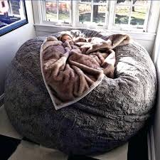Big Bean Bag Bed Nice Design Ideas For Fuzzy Chair Best About