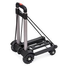 100 4 Wheel Hand Truck Pei Luggage Cart S Folding Portable Carts
