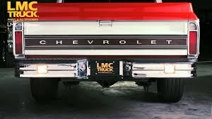 LMC Truck: Starlite Bumpers - YouTube