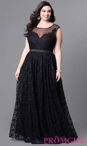 full figure dresses and plus size prom gowns promgirl