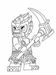 Lego Chima Prince Laval Ready To Fight Coloring Pages Batch