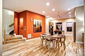 Orange Accent Wall Bedroom Red In Grey With