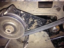 Craftsman Lt2000 Drive Belt Diagram by Craftsman Lt 1000 New Tensioner Pulley Youtube