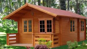 100 Modern Wooden House Design Cabins Wood Woods Plan Blueprint Cottage S