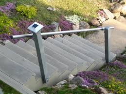 Added Handrails To Outdoor Stairs To Satisfy Home Insurance ... Outdoor Wrought Iron Stair Railings Fine The Cheapest Exterior Handrail Moneysaving Ideas Youtube Decorations Modern Indoor Railing Kits Systems For Your Steel Cable Railing Is A Good Traditional Modern Mix Glass Railings Exterior Wooden Cap Glass 100_4199jpg 23041728 Pinterest Iron Stairs Amusing Wrought Handrails Fascangwughtiron Outside Metal Staircase Outdoor Home Insight How To Install Traditional Builddirect Porch Hgtv