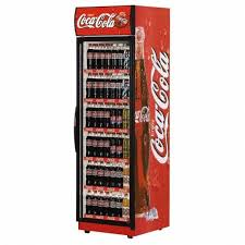 Super 76 Coke Display Fridge