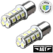 1157 bay15d motorcycle led brake stop light bulbs pair pack of 2
