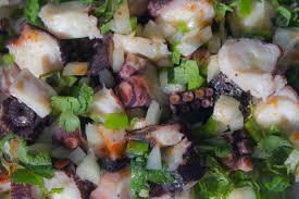 cuisiner poulpe frais salade de poulpe line lisbonne et cie