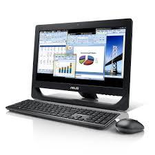 ordinateur de bureau tactile tout en un asus all in one pc et2012agtb b003c noir pc de bureau asus sur