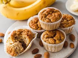 low carb bananenmuffins backen ohne zucker mehl