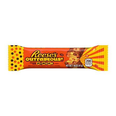 Reeses Candy Bar, Outrageous - 1.48 oz