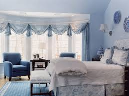 Bedroom Blue And White Bedrooms Ideas 76 With