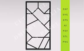 haka privacy screen dxf svg eps ready to cut file cnc template