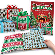 On The Slopes Christmas Wrapping Paper