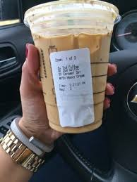 What To Order At Starbucks For A Low Carb T Atkins And Iced Coffee Price Medium Vanilla