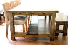 Farmhouse Table Dining Room Lovable Rustic Farm Dining Table Ideas
