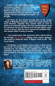 The Mystery Of Magna Carta Denise Elaine Conquest Steele 9781784623357 Amazon Books