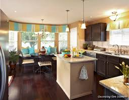 kitchen killer blue and yellow kitchen decoration using small