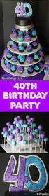 40th Birthday Decorations For Him by 40th Birthday Cake Cupcakes U0026 Cake Pops A Party For My Hubby