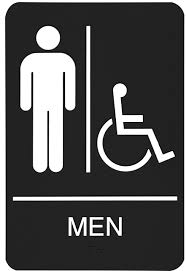 Gender Inclusive Bathroom Sign by Mens Bathroom Sign Free Download Clip Art Free Clip Art On