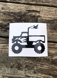 100 Monster Truck Wall Decals Truck Decal Can Custom With Name Wall Decal Car Decal