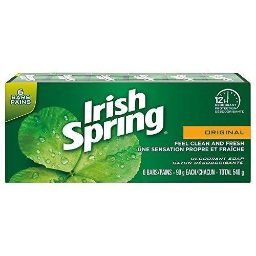Irish Spring Original Bar Soap - 6pk, 90g