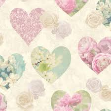 Full Size Of Furniturefd41912 Vintage Hearts Wallpaper Fine Decor Fancy Shabby Chic Furniture Large