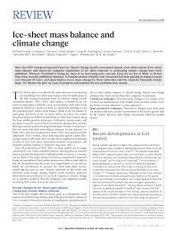 Jay R Smith Floor Drains 2005 by Ice Sheet Mass Balance And Climate Change Pdf Download Available
