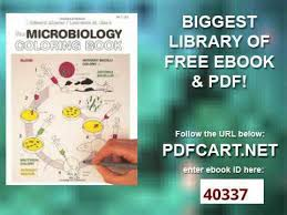 Unusual Design Ideas Microbiology Coloring Book The