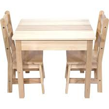 Child Table And Chairs Wood Kids Chair Sets Childrens Wooden ...