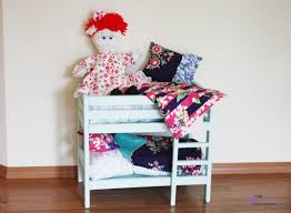 ana white baby doll bunk bed diy projects