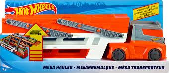 100 Hot Wheels Truck Mega Hauler OrangeGrayWhite 887961642957 EBay