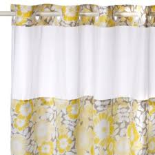 Bed Bath And Beyond Curtain Rod Rings by Buy Hookless Shower Curtains From Bed Bath U0026 Beyond