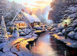 Thomas Kinkade Christmas Tree For Sale by 233 Best Thomas Kinkade Christmas Images On Pinterest Beauty