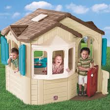 Step2 Heart Of The Home by Step2 Naturally Playful Welcome Home Playhouse U0026 Reviews Wayfair