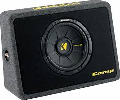Kicker 40TCWS102 Ported Truck Enclosure With One 2-ohm 10