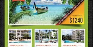 Premium Travel Agency Poster Template