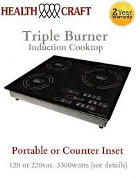 True Induction TI 3B Triple Burner Induction Cooktop