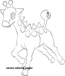 Eevee Coloring Sheets Unique Pages Awesome To See Printable Version Page For Of Print