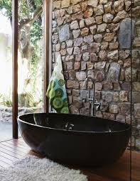 designer badezimmer mit schwarzer bild kaufen 11281257