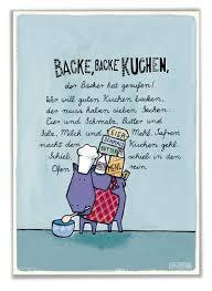 poster kinderzimmer backe backe kuchen de baby