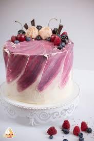 tutorial aquarelltechnik auf torte vanilletanz