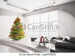 weihnachtsbaum im wohnzimmer 3d stück weihnachtsbaum mit
