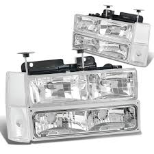 88-93 Chevy C10 CK Truck 8-PCS Euro Style Crystal Headlights - Chrome 881998 Chevy Truck 8piece Black Halo Headlights Set Wxenon Bulbs Billet Front End Dress Up Kit With 7 Single Round 1973 Lumen Ck Pickup 1964 Projector Led Dna Motoring For 0306 Silveradoavalanche 4pc Headlight 5 Inch 1958 Wiring Diagrams Schematics 03 04 05 06 Silverado 1500 Tail Lights Parking Light 9499 Suburban Blazer Headlamps Light Blue Trucks Elegant Chevrolet Colorado Crew Cab Photo 9902 1 Piece Grille Cversion Dash In 2017 Are Awesome The Drive 072014 Tahoe Avalanche Tron Style Neon Tube