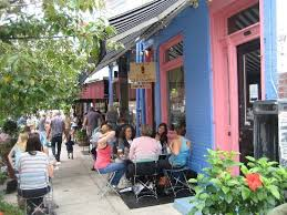 Sabrinas Cafe Outdoor Seating