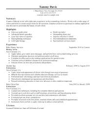 Cosmetology Resume Sample Recent Graduate Plus For Create Astonishing Example 676
