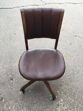 W H Gunlocke Chair Value by Bankers Chair Ebay