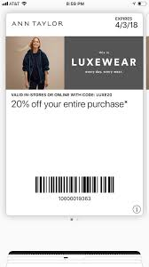 Ann Taylor Birthday Coupon - Automotive Union Ann Taylor Coupon Code September 2019 Loft Online Free Shipping Always Coupons December 2018 Turkey Trot Minneapolis Promo Target Dog Food 15 Off 75 Or More 12219 The Gateway Center Brooklyn How To Maximize Your Savings At Loft Slickdeals Womens Clothing Petites Drses Pants Shirts Cares Card Taylor Sydneys Fashion Diary Stackable Codes Www Loft Com New Deals 50 Everything Free Shipping Is Salt Water Taffy Made Adore Hair Studio