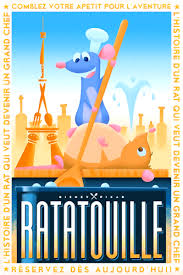 Ratatouille Wallpaper Possibly With Anime Titled Posters Inspired By 1920s French Style Illustrations